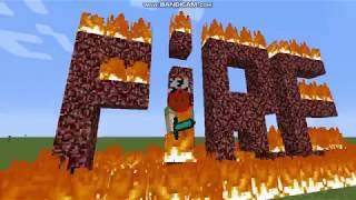 K_pop en Minecraft !!Fire bts!!!parodia