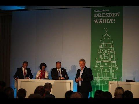 OB-Kandidaten für Dresden im SZ-Wahlforum