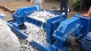 Шредер для биг бег Дробилка отходов Дробилка для биг-бегов Shredding Systems ДР4420Ц250(, 2015-08-19T07:13:14.000Z)