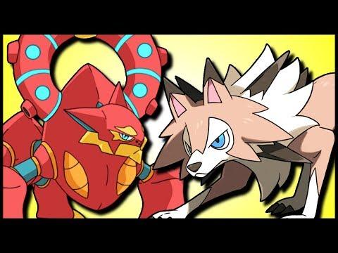 Continental Crush Lycanroc & Specs Volcanion [Pokémon Sun & Moon]