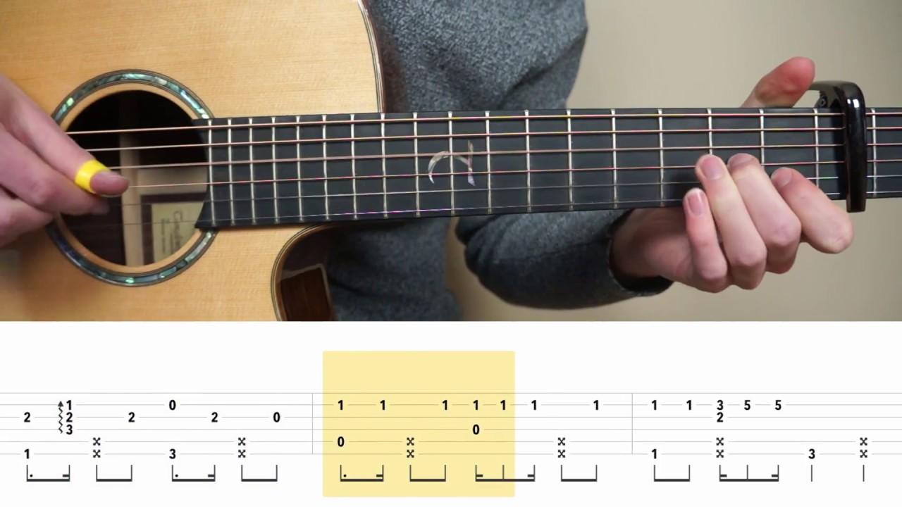 Ed Sheeran Shape Of You Fingerstyle Guitar Tabs Tutorial Lesson Guitar Tabs Fingerstyle Guitar Guitar