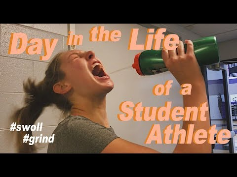 Day in the Life of a Student Athlete | College Edition