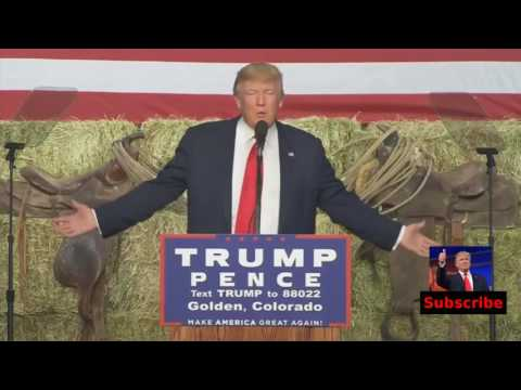 Full Speech: Donald Trump Rally in Golden, Colorado (10/29/2016)