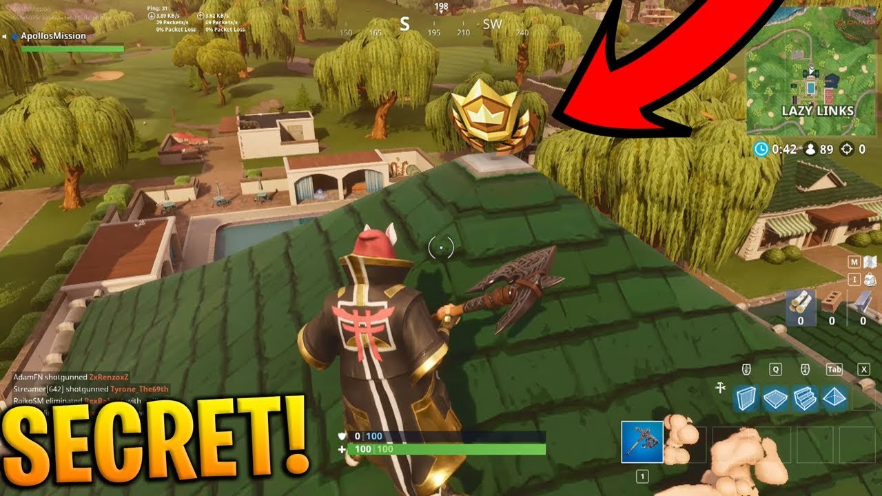 Nobody Knows About This Secret Battle Star Location Fortnite
