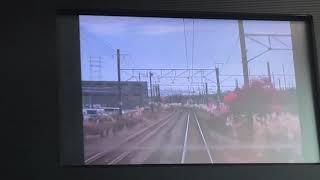 快速海里  HB-E300系  新潟駅発車  車内放送 1号車の車内