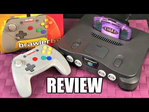 A Modern N64 Controller? Brawler64 Gamepad REVIEW W/ GamePlay