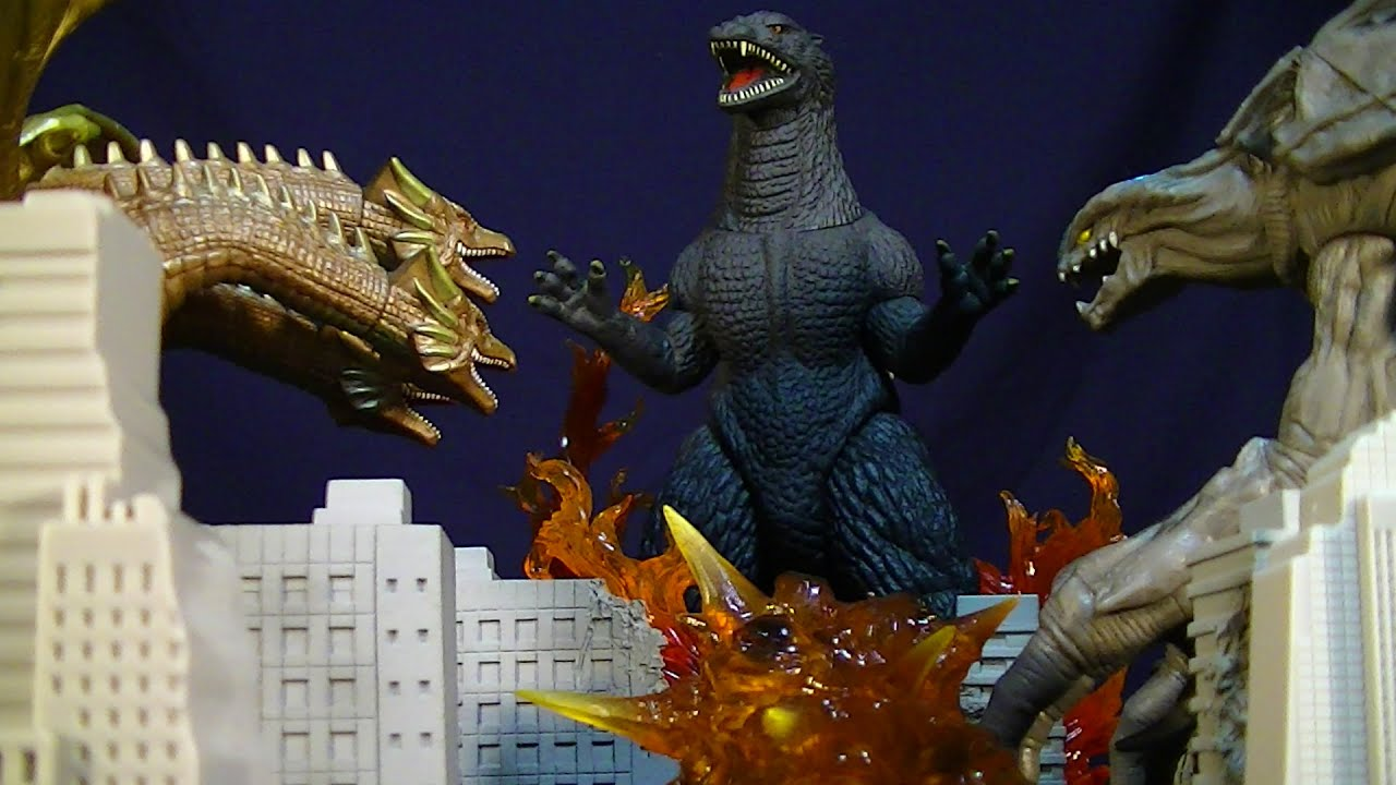 Final Wars Godzilla 8 Inch Orga And Cretaceous King