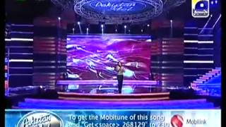 Zamad Baig Singing very Nice Song in Pakistan Idol Gala Round