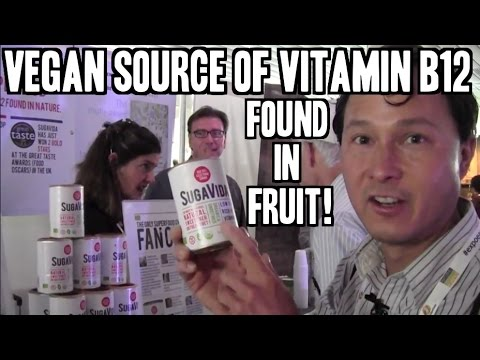 Vegan Source of Vitamin B12 Found in Fruit & More from Natural Products Expo East 2014