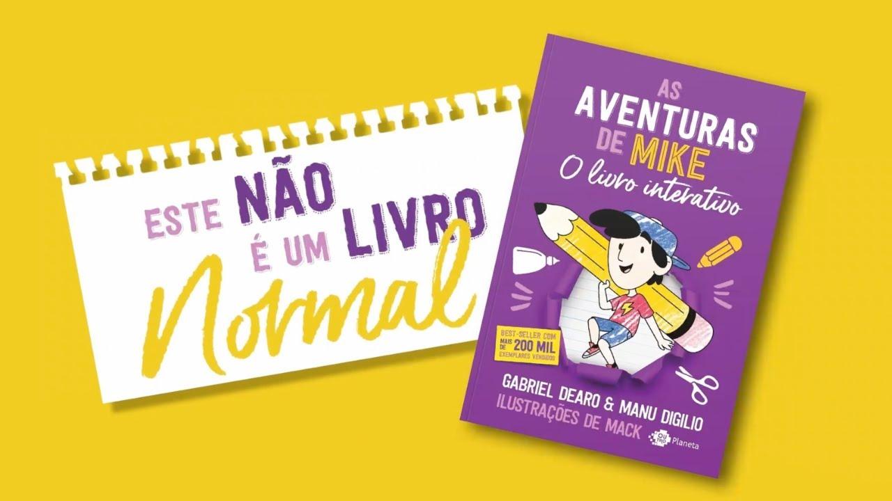 AS AVENTURAS DE MIKE - O Livro Interativo | BookTrailer