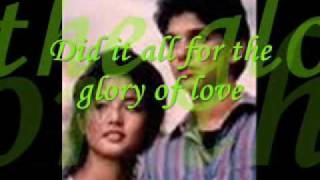 Glory Of Love(Karate Kid 2)