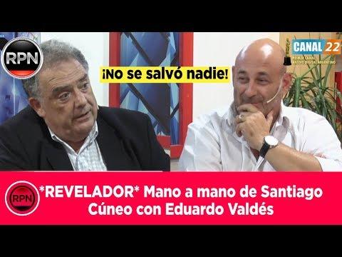 *REVELADOR* Mano a mano de Cúneo con Valdés (no se salvó nadie)
