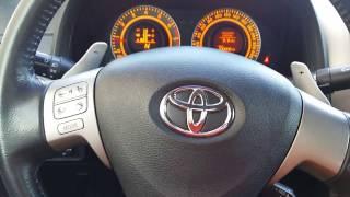 Отключение зуммера ремня безопасности Toyota Corolla X E150