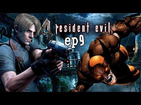 Resident Evil 4 #9 -  Leon Vs o Wolverine cego