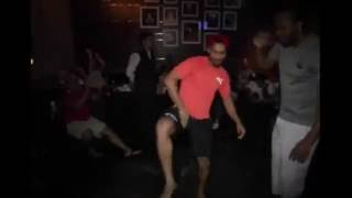 Virat Kohli, Chris Gayle and Mandeep Singh Dancing on Punjabi Song