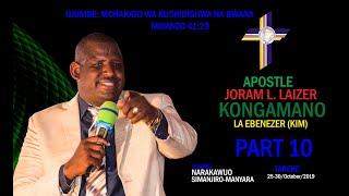 Gambar cover MCHAKATO WA KUSHIBISHWA NA BWANA. PART 10, APOSTLE JORAM LAIZER