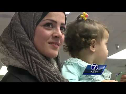 Syrian refugees find new lives, friends in Omaha