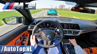 BMW M3 G80 *Manual* POV Test Drive by AutoTopNL