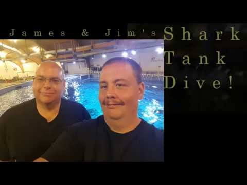Roanoke Island Aquarium Shark Tank Dive - July 13, 2016