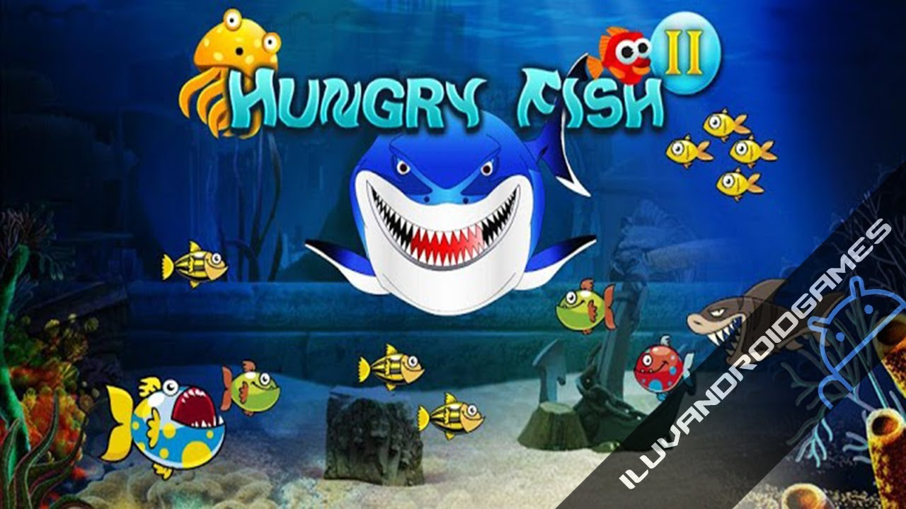 Hungry fish 2 gameplay youtube for Hungry fish game
