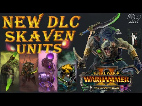 🤘 New Skaven Units In The Shadow & The Blade TW Warhammer 2 Newest DLC