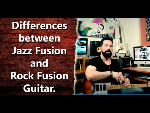 What are the differences between a Jazz Fusion and a Rock Fusion Guitar player? -  INT 067