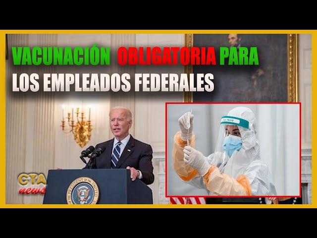 EE.UU. Biden lanza un plan de vacunación que afecta a 100 millones de trabajadores