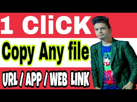 How to copy URL/app link from any app or web.