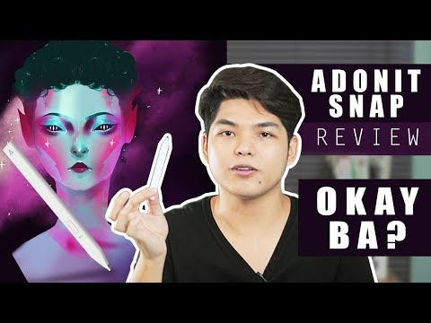 Adonit Snap Stylus Review (Tagalog) | Philippines