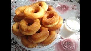 Ванильные пончики на молоке!!!Быстро,много,вкусно!!!