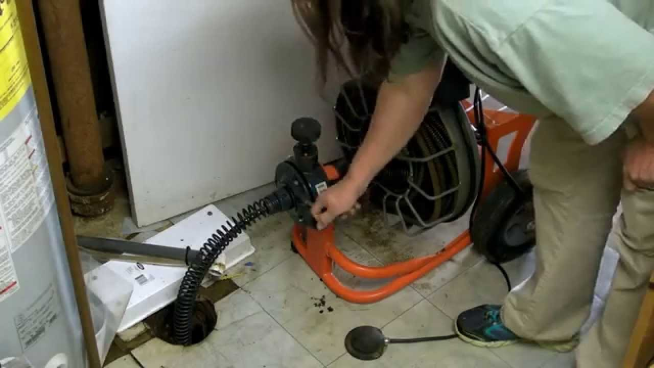 How To Unclog Your Main Line Drain Easy And Plumbing Fix Snake You