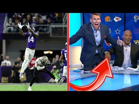 The iconic game-winning play from Saints vs Vikings + Sky Sports team reaction!