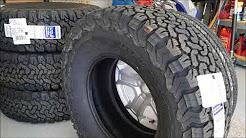 Tires for the Wrangler JL! 285/75-17 BFG KO2 is Here!