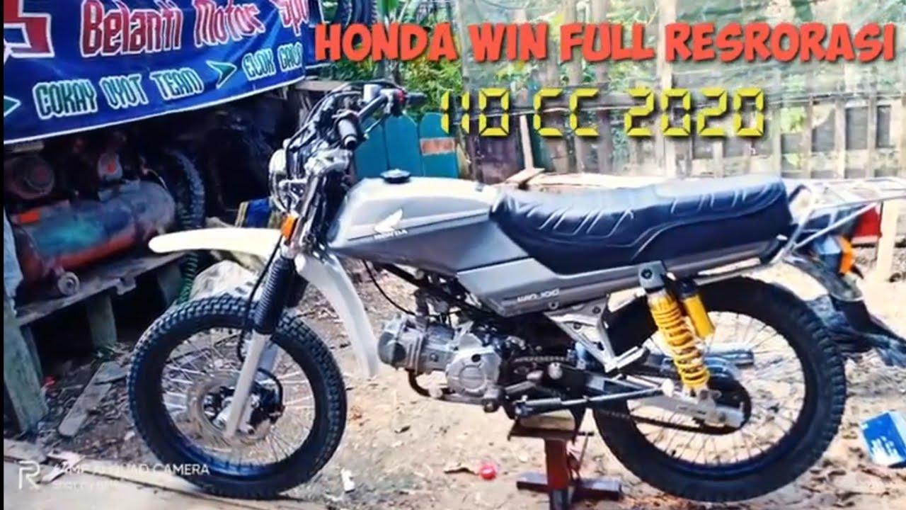 Honda Win Modifikasi Honda Win 100 Win Touring Honda Win Adventure Honda Win Trabas Youtube