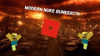 [ROBLOX] Modern Nuke Fallout shelter Speed Build!