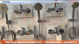 TDM.VN | Review vòi sen tắm TOTO TBG04302V/TBW03002B nóng lạnh tắm đứng