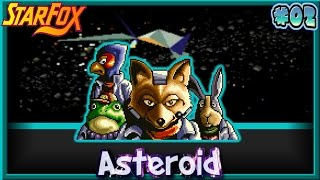 Star Fox SNES - Asteroid Belt (Level 1) [02]