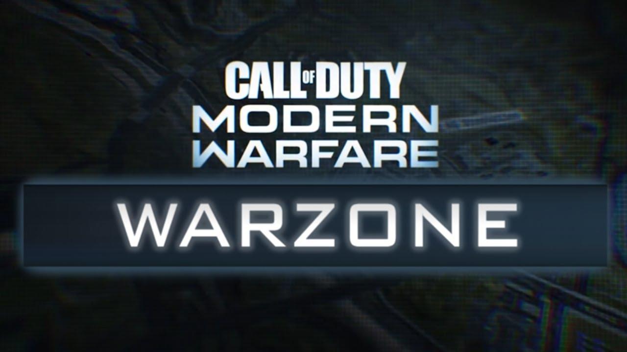 call of duty modern warfare warzone logo