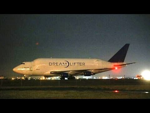 Boeing Dreamlifter 747 Lands At Wrong Airport, Can