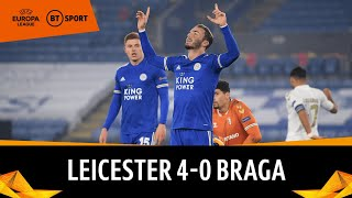 Leicester vs Braga (4-0) | Europa League Highlights