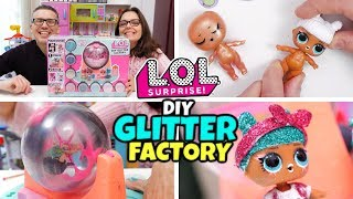 LOL SURPRISE DIY GLITTER FACTORY per Customizzare le LOL