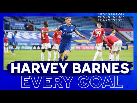 Harvey Barnes    Every goal as a Leicester City player