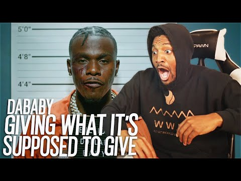DaBaby - Giving What It's Supposed To Give (REACTION!!!)