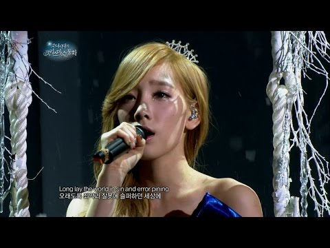 Free Download 【tvpp】taeyeon(snsd) - O Holy Night, 태연(소녀시대) - 오 홀리 나이트 @ Snsd's Christmas Fairy Tale Mp3 dan Mp4