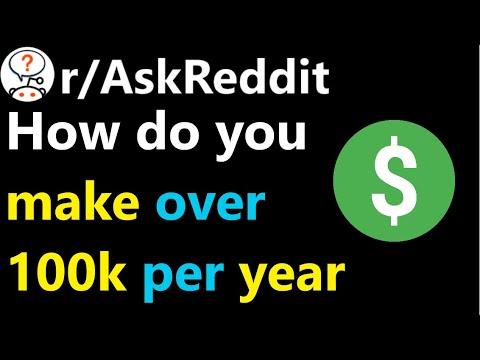 How Do You Make Over 100k Per Year R Askreddit Reddit Jar Youtube