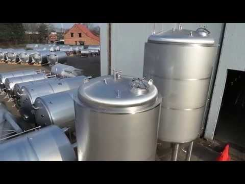 Cuves de fermentation de la bière STAES.COM