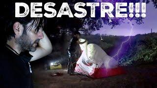 INTENTO ACAMPAR y acaba en DESASTRE / MÉXICO EN LA NOCHE (S17/E19) VUELTA AL MUNDO EN MOTO SINEWAN
