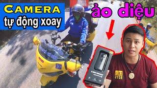 Bật mí Camera THẦN THÁNH tự động xoay 360 của Việt Lê