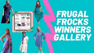 Frugal Frocks Winners Gallery || 100 Days of Sewing || Day 66