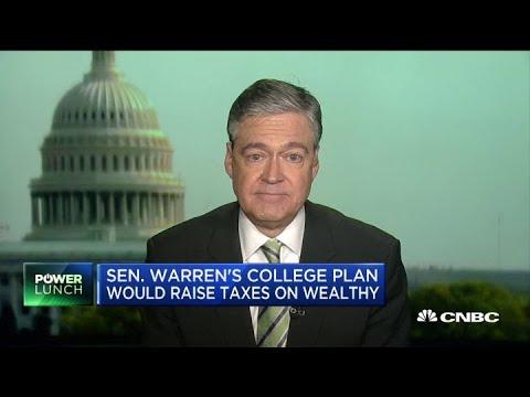 Senator Elizabeth Warren's college plan would cost $1.25 trillion over 10 years Mp3